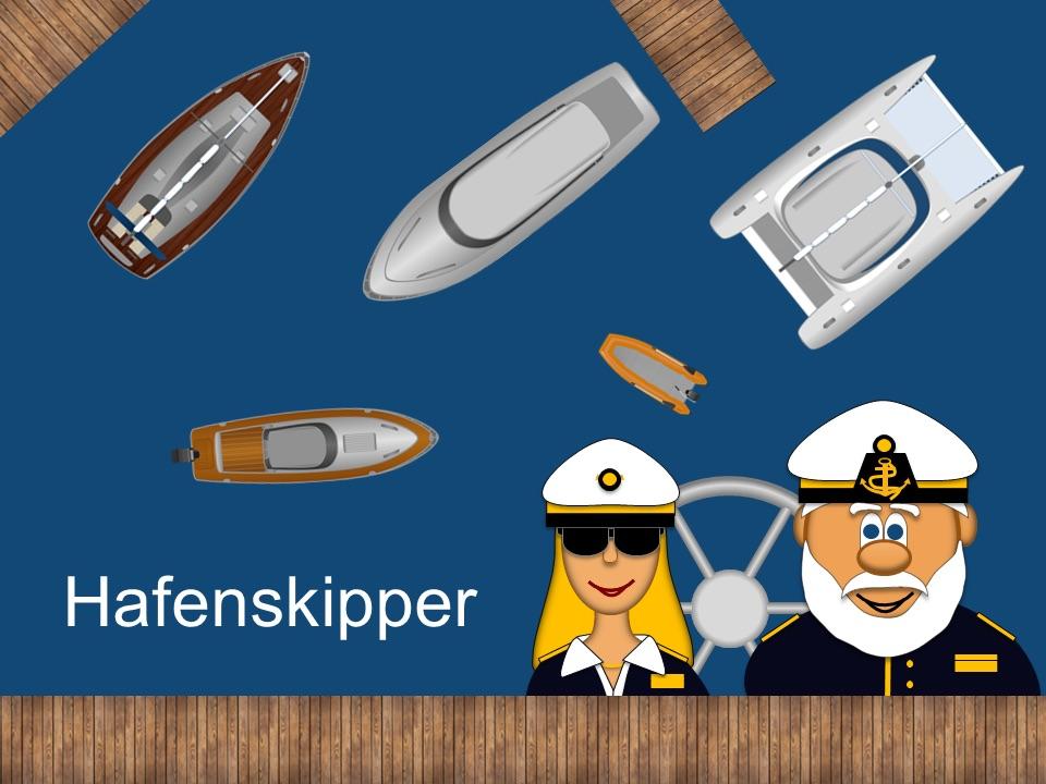 Screenshot zeigt Übersicht der Schiffe